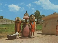 Custer-sd-south-dakota-flintstones-bedrock-city-route-16-roadside