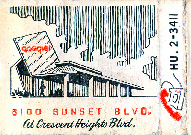 Googie's on Sunset: the first Googie