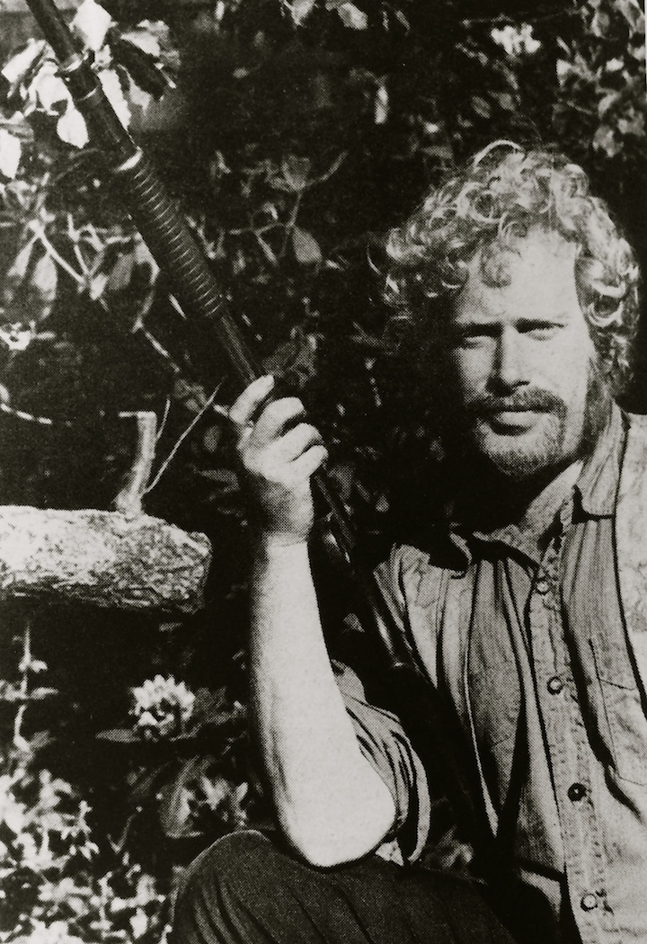 Albert with Gun
