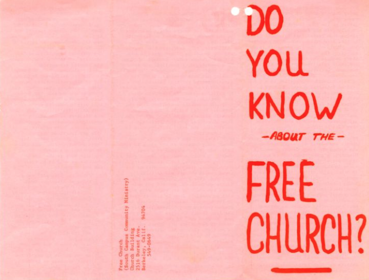 Free Church Pink 1
