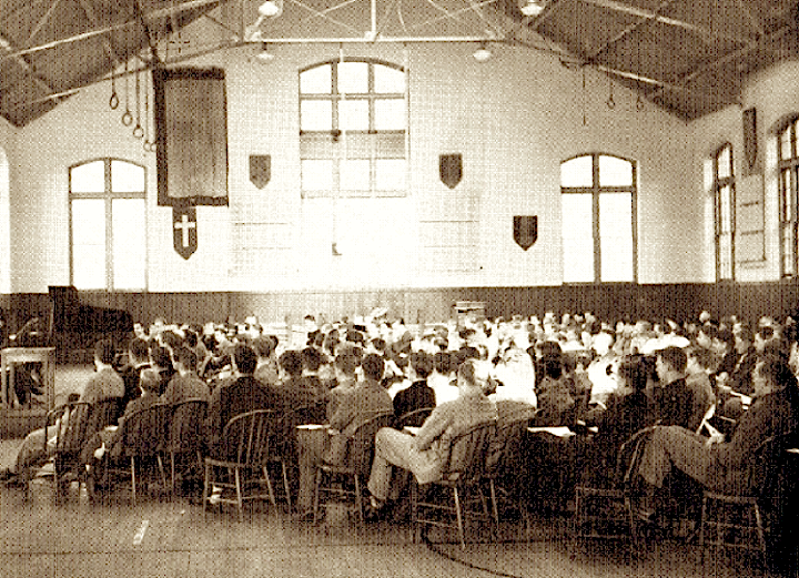 Old Gym Assembly