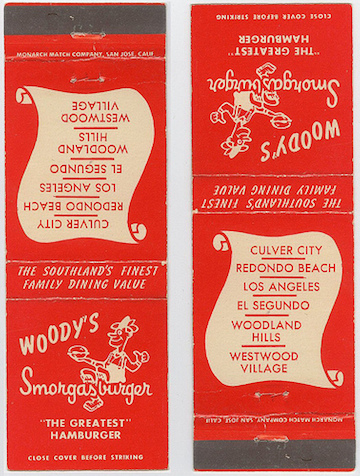Woody's Matchbook