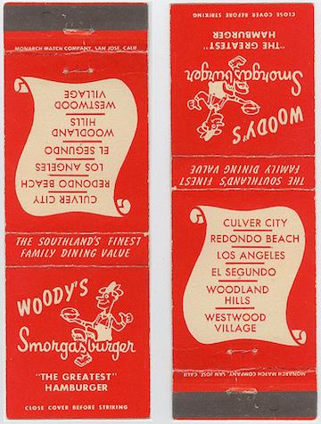 Woody's Matchbook