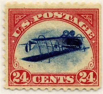 1918 Jenny Stamp