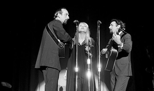 Peter, Paul & Mary, Berkeley, CA, 1965