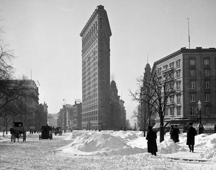 Flatiron New York Snow