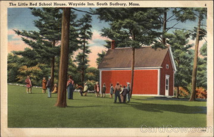 The Little Red School House - Wayside Inn Sudbury