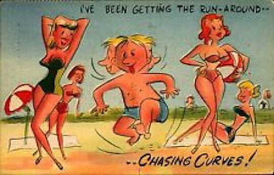 Postcard Runaround
