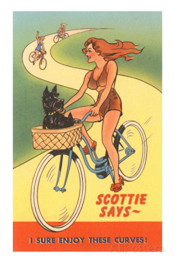 Postcard scottie