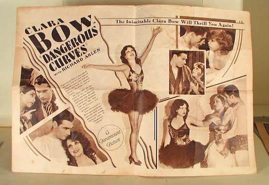 Poster Inimitable Clara Bow
