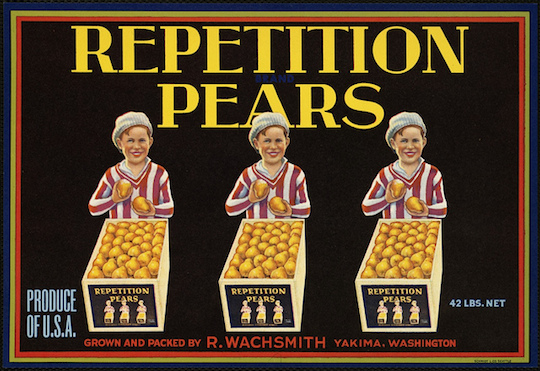 Repetition-Pears