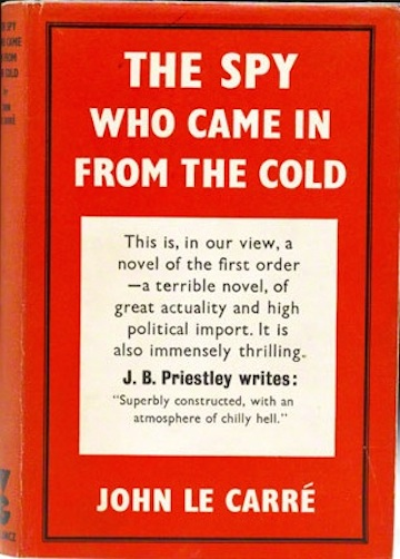 The Spy Who Came in from the Cold first edition hardcover John le Carre