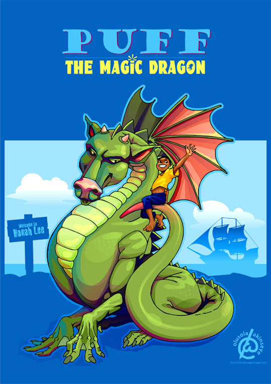puff the magic dragon- upload