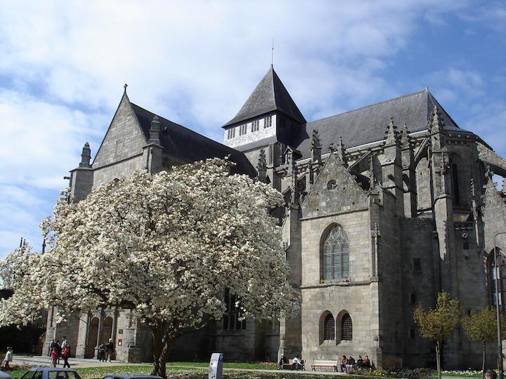Dinan St. Malo church