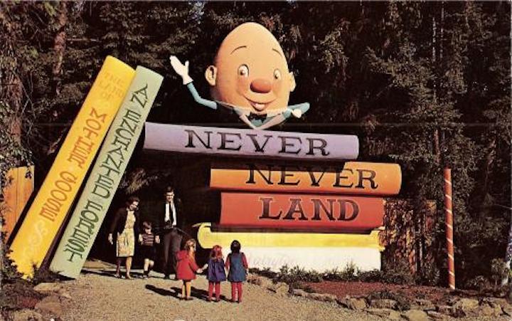 Never Never Postcard 1