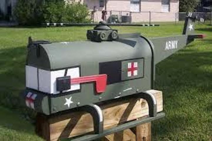 Quirky Berkeley Gun Mailboxes Not Berkeley