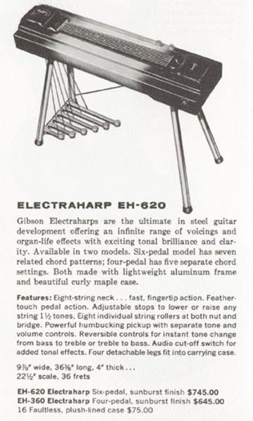 electra harp EH-620
