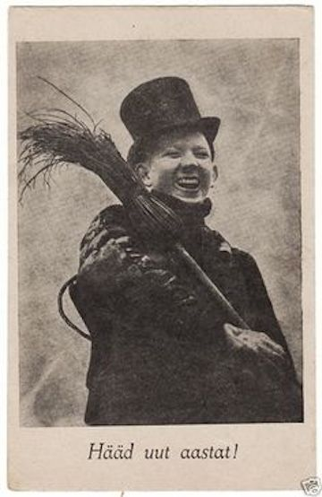 Quirky Berkeley - Chimney Sweep (Mostly Cute) Postcards
