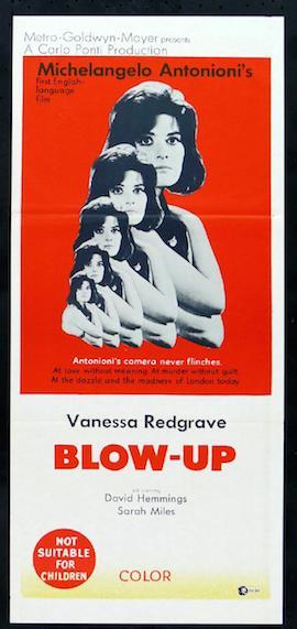 BLOW-UP - Australian Poster 1