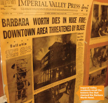 Barbara Worth Hotel 4 Fire