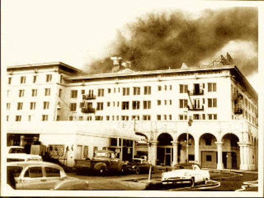 Barbara Worth Hotel 5 Fire