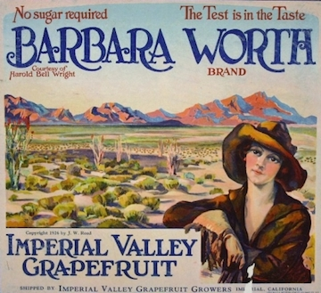Barbara Worth Label 1