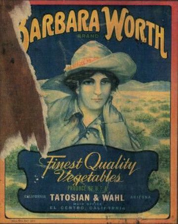 Barbara Worth Label 4