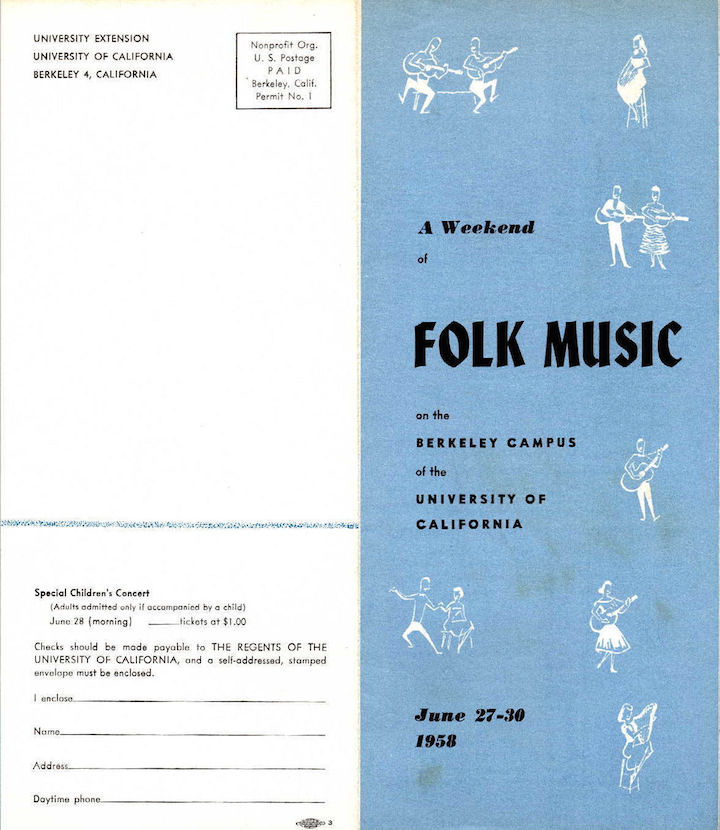 Berkeley Folk 1958-1
