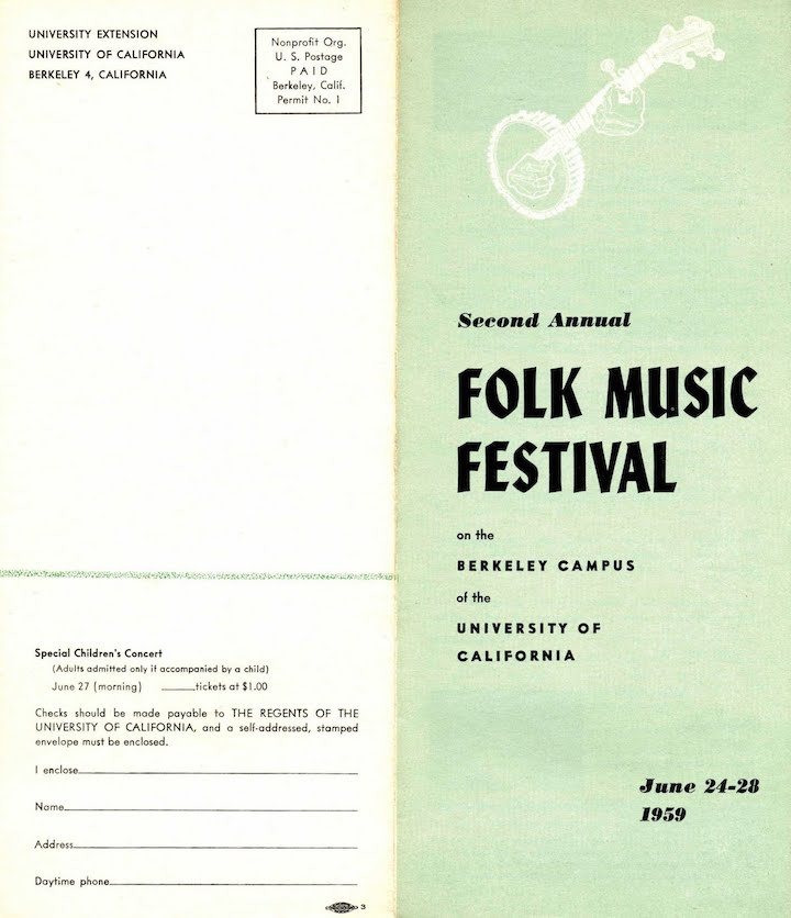 Berkeley Folk 1959-1
