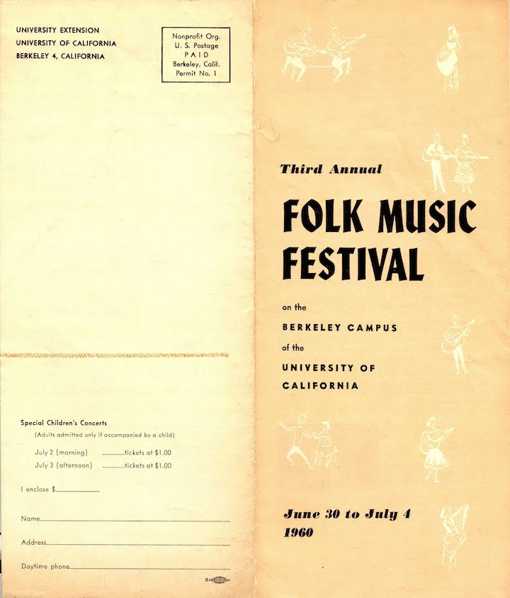 Berkeley Folk 1960-1