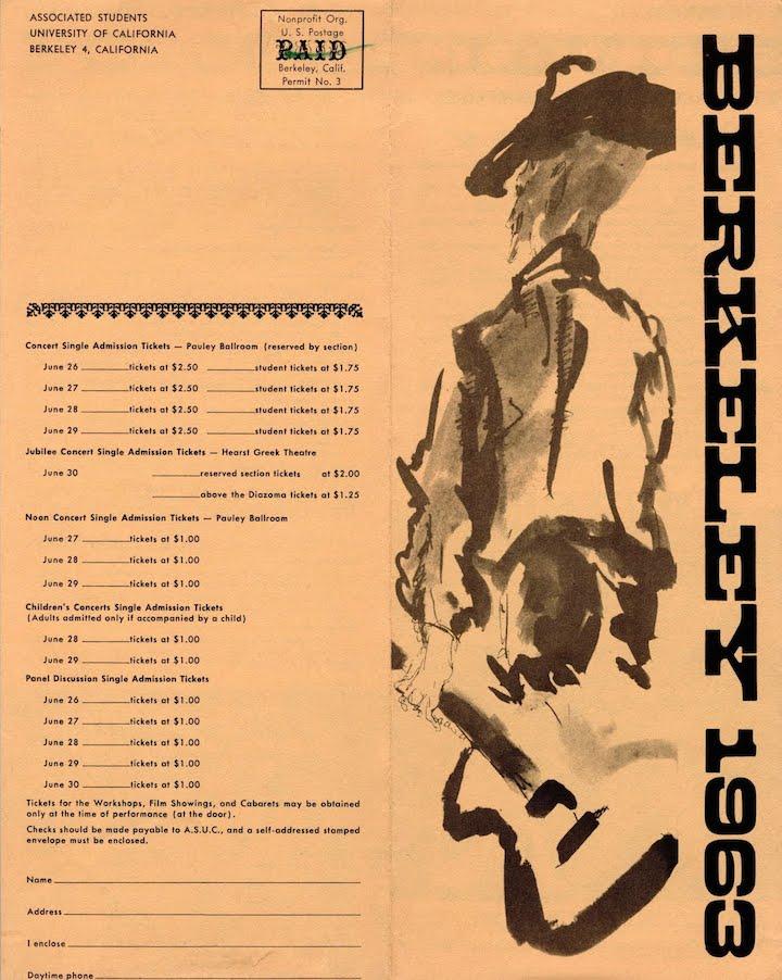 Berkeley Folk 1963-1