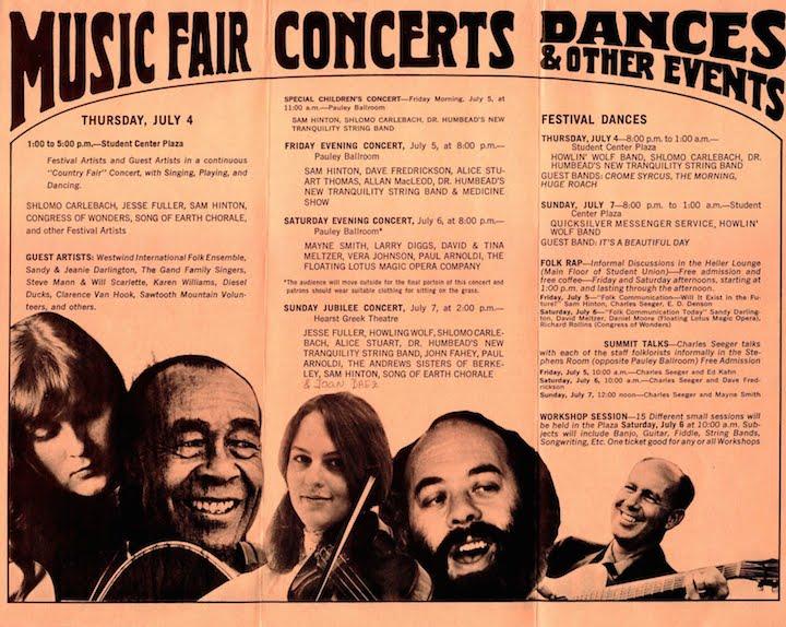 Berkeley Folk 1968-2