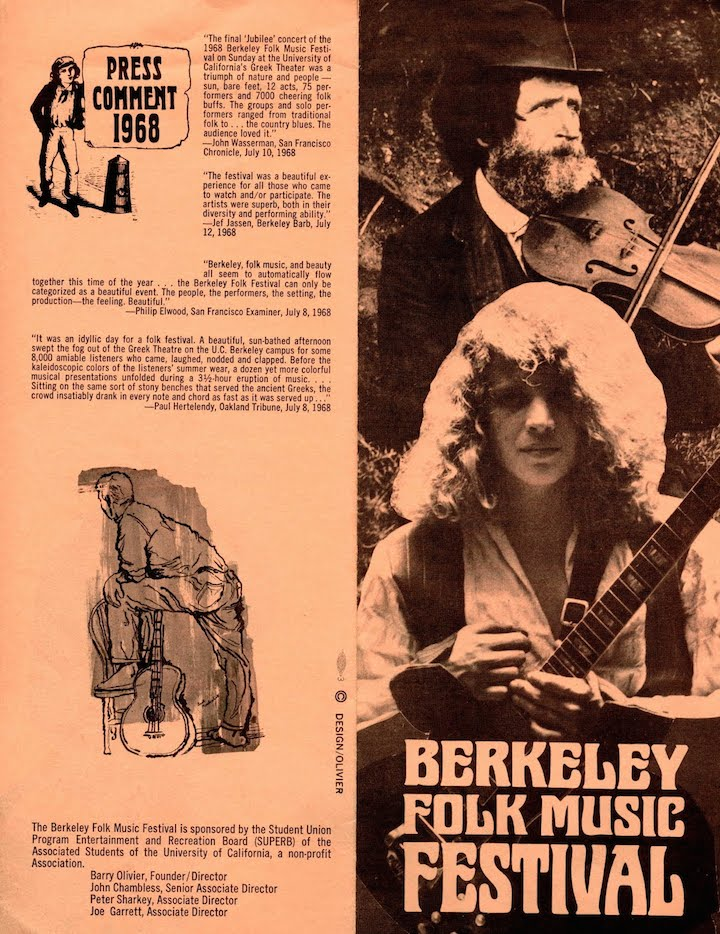 Berkeley Folk 1969-1