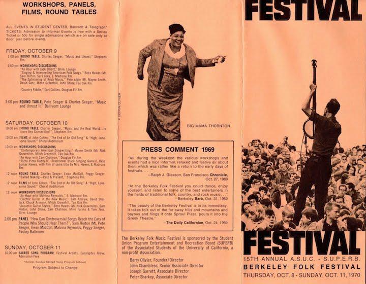 Berkeley Folk 1970-1