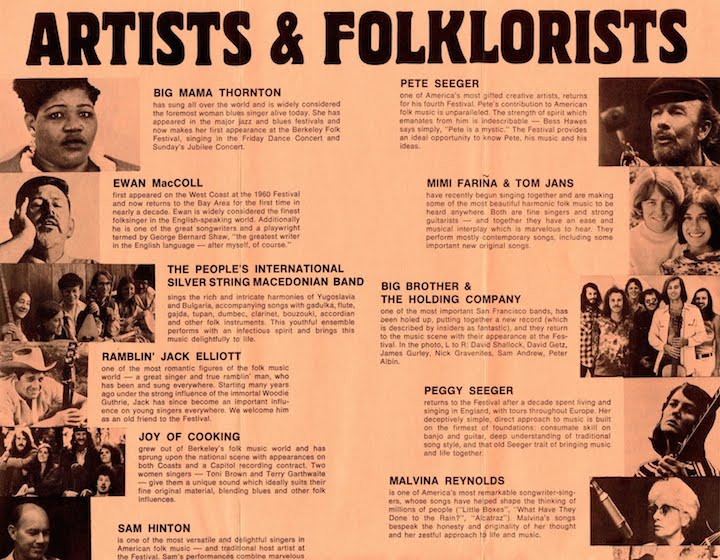 Berkeley Folk 1970-3