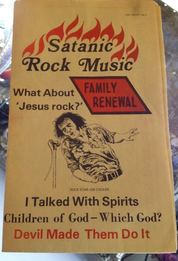 Devil pamphlet