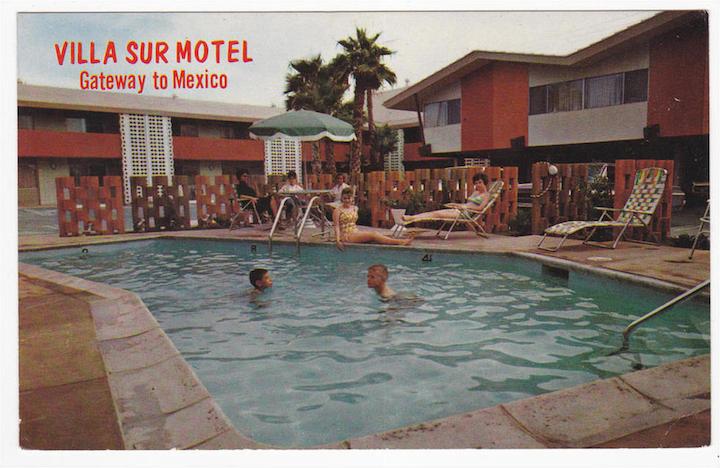 Villa Sur Postcard