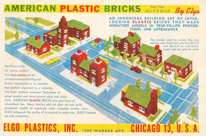 book-cover-chicago-elgo-plastics-1809-warner-ave-american-plastic-bricks-manual-1950s