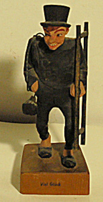 Quirky Berkeley Chimney Sweep Figurines And Carved Figures