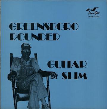 Guitar+Slim+-+Greensboro+Rounder+-+LP+RECORD-573873