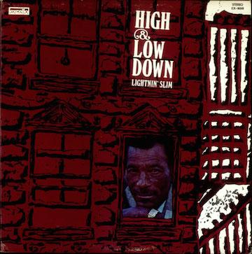 Lightnin'+Slim+-+High+&+Low+Down+-+LP+RECORD-536409