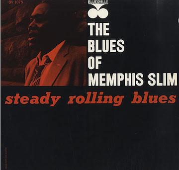 Memphis+Slim+-+Steady+Rolling+Blues+-+LP+RECORD-404881
