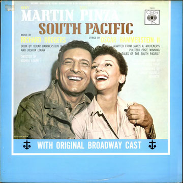 Original+Cast+Recording+-+South+Pacific+-+Early+70s+-+LP+RECORD-506440