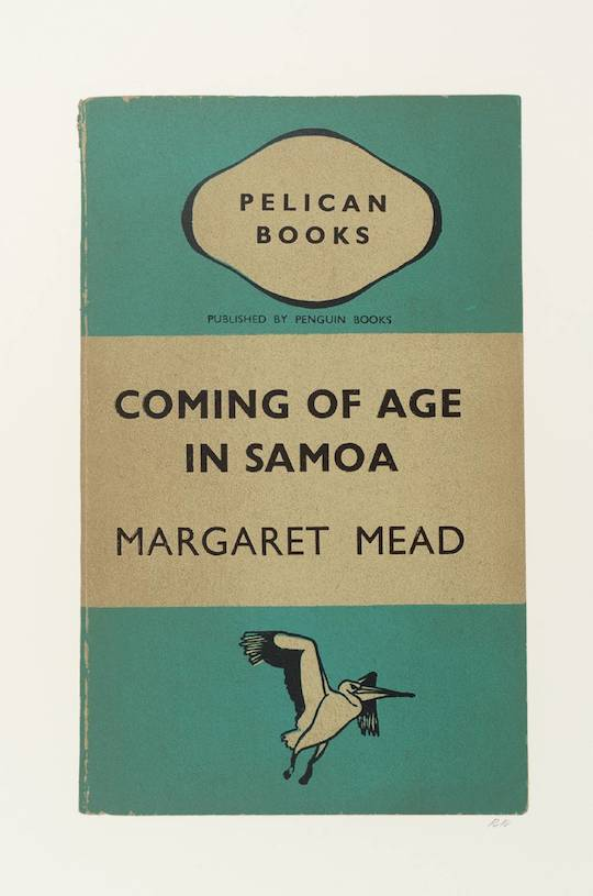 (17) Coming of Age in Samoa 1969-70 by R.B. Kitaj 1932-2007