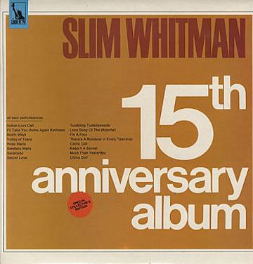 Slim+Whitman+-+15th+Anniversary+Album+-+LP+RECORD-302782