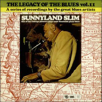 Sunnyland+Slim+-+The+Legacy+Of+The+Blues+Vol.+II+-+LP+RECORD-545697