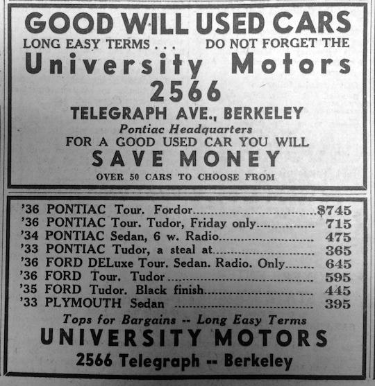 Berkeley Gazette May 14, 1937