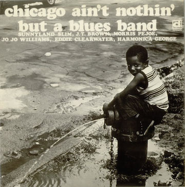 Various-Blues+&+Gospel+-+Chicago+Ain't+Nothin'+But+A+Blues+Band+-+LP+RECORD-546185