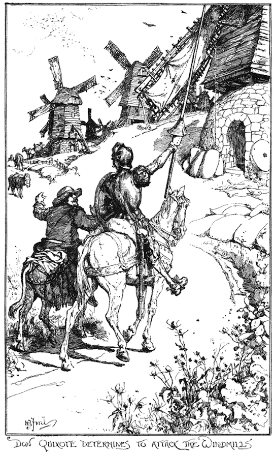 don quixote in the renaissance Cervantes' don quixote  in the national literatures that matured during the northern renaissance, the transition from feudal knight to renaissance courtier finds its greatest literary expression in a masterpiece of spanish satire, don quixote de la mancha, the.