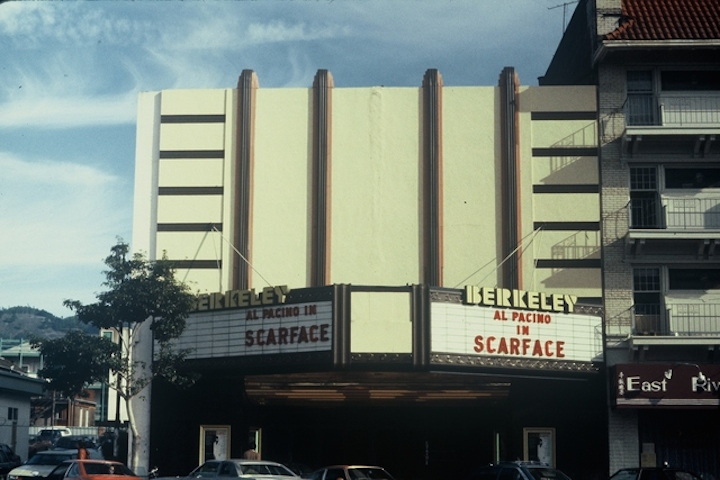 Berkeley Theatre, 2125 Shattuck.  Photo: Cinema Treasures